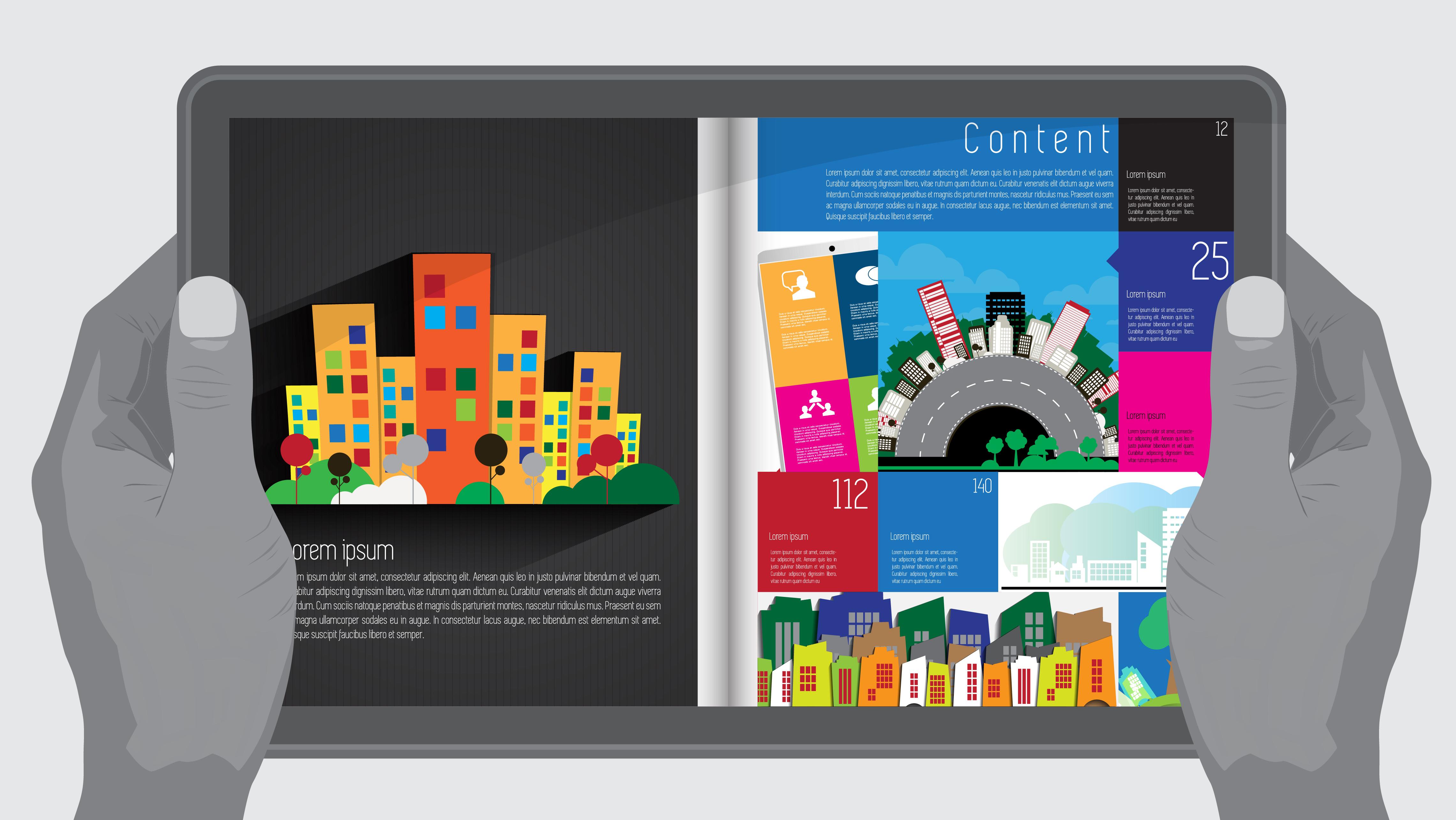 visual marketing design