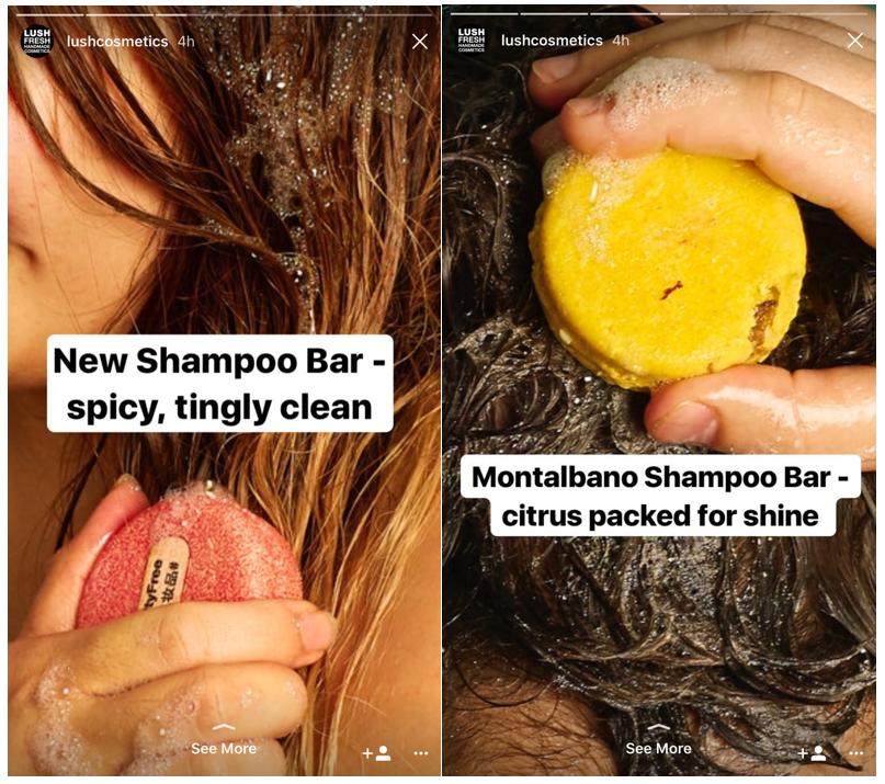 Instagram Story - Lush Cosmetics 2