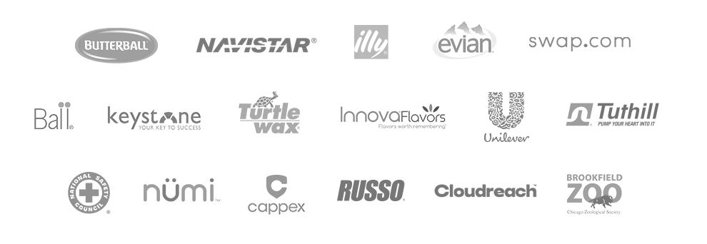 Harp Interactive's prestigious B2B and B2C digital marketing clients